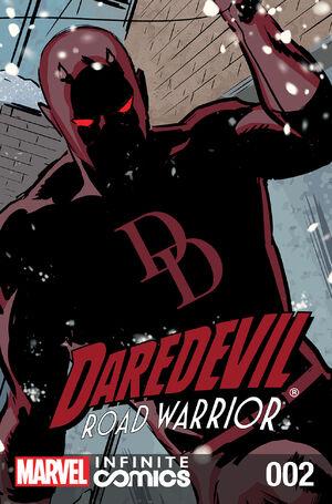 Daredevil Road Warrior Infinite Comic Vol 1 2