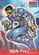 Nicholas Fury (Earth-616) from Marvel Legends (Trading Cards) 0001
