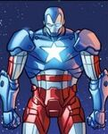 James Rhodes (Earth-616) with Iron Patriot Armor from Iron Man Fatal Frontier Infinite Comic Vol 1 1 003