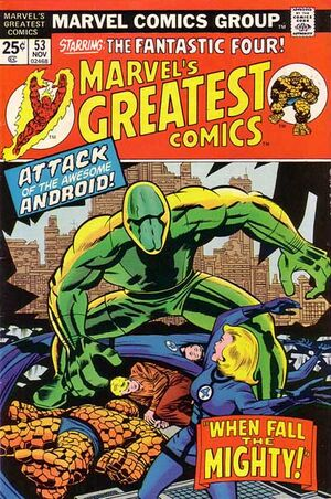 Marvel's Greatest Comics Vol 1 53