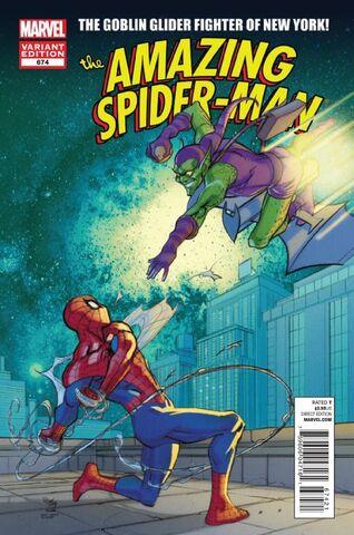 File:Amazing Spider-Man Vol 1 674 Marvel Comics 50th Anniversary Variant.jpg