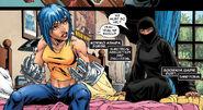 Noriko Ashida (Earth-616) and Sooraya Qadir (Earth-616) from New X-Men Vol 2 20 0001