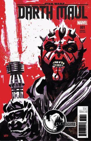 File:Star Wars Darth Maul Vol 1 1 Unknown Comic Books Exclusive Variant.jpg