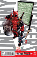 Uncanny Avengers Vol 1 1 Deadpool Call Me Maybe Variant