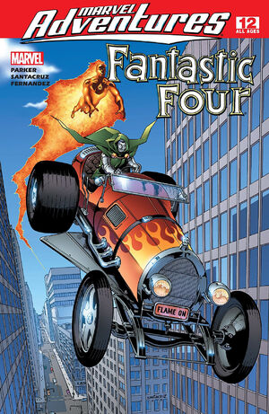 Marvel Adventures Fantastic Four Vol 1 12