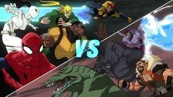 The Team Vs Sinister Six