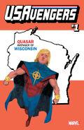 U.S.Avengers Vol 1 1 Wisconsin Variant