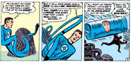 Mister Fantastic versus Spider-Man from Fantastic Four Annual Vol 1 1