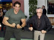 Stan Lee e Lou Ferrigno