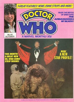 Doctor Who Monthly Vol 1 45