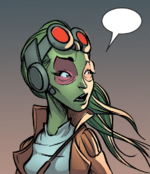 Gamora (Earth-TRN421) from 100th Anniversary Special - Guardians of the Galaxy Vol 1 1 0001