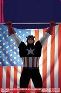 Captain America Reborn Vol 1 5 Cassaday Variant Textless