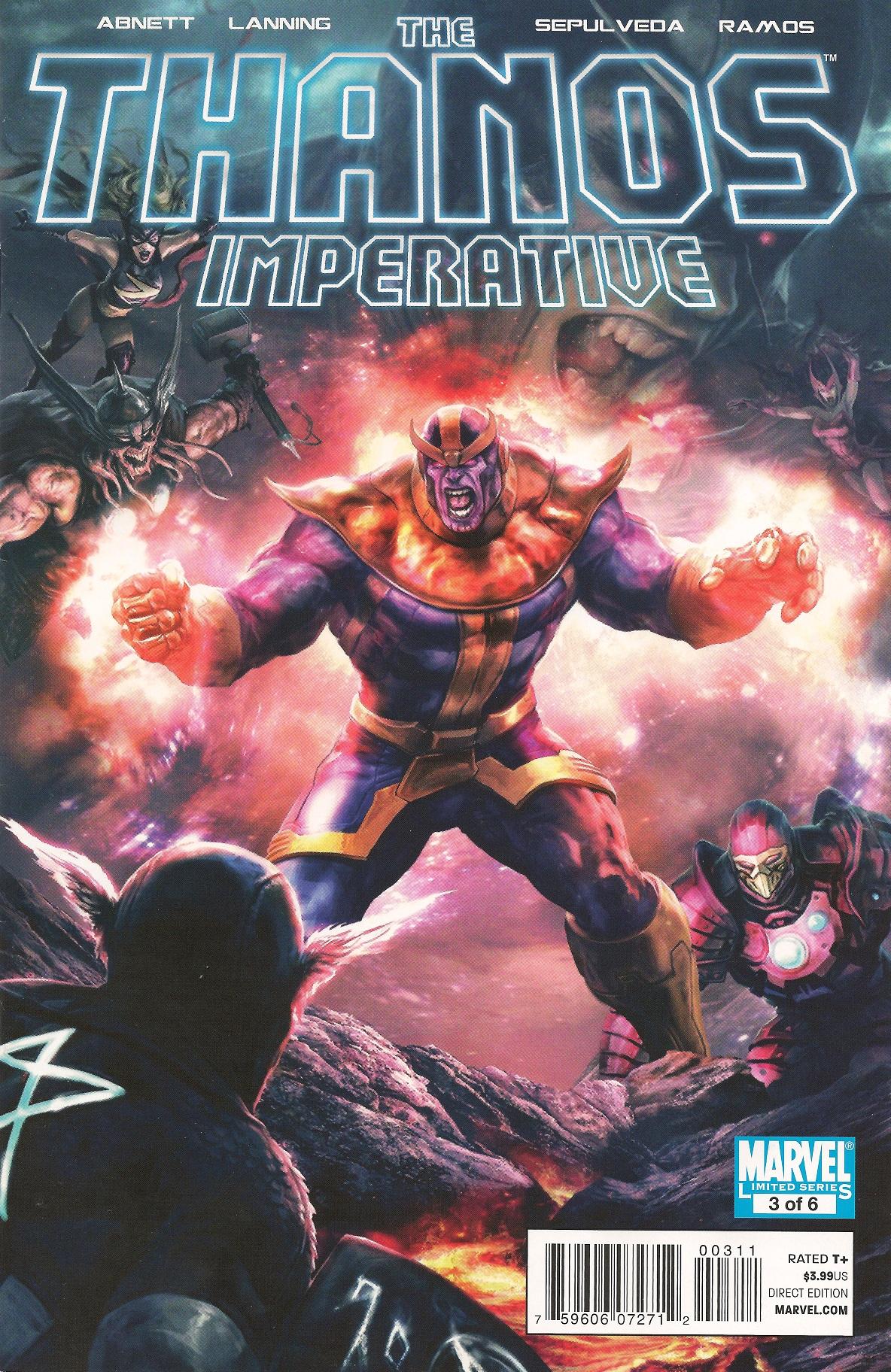 Thanos Imperative Vol 1 3 | Marvel Database | FANDOM ...
