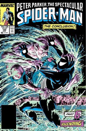 Peter Parker, The Spectacular Spider-Man Vol 1 132