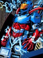 American Son Armor from Amazing Spider-Man Vol 1 597 0001