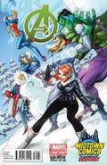Avengers Vol 5 24.NOW Midtown Comics Exclusive Variant