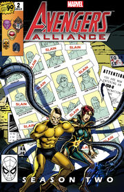 Marvel Avengers Alliance Season Two Poster
