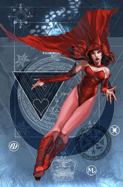 Mystic Arcana Scarlet Witch Vol 1 1 Textless
