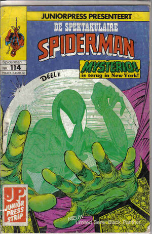 Spectaculaire Spiderman 114