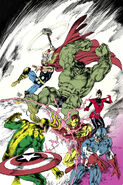 Avengers Vol 5 24.NOW Avengers as X-Men Deodato Variant Textless