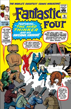 Fantastic Four Vol 1 15