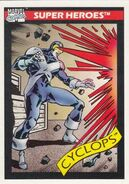 Scott Summers (Earth-616) from Marvel Universe Cards Series I 0001