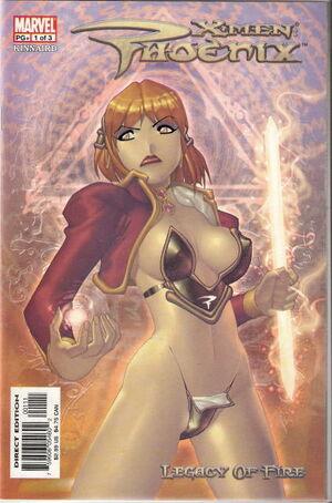 X-Men Phoenix Legacy of Fire Vol 1 1