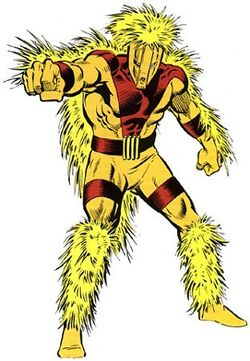 Alexander Gentry (Earth-616) from Official Handbook of the Marvel Universe Vol 2 19 0001