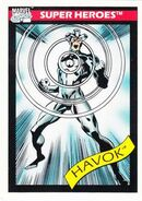 Alexander Summers (Earth-616) from Marvel Universe Cards Series I 0001
