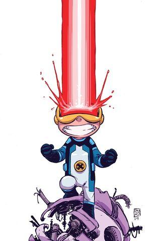 File:Cyclops Vol 3 1 Baby Variant Textless.jpg
