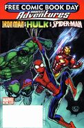 Free Comic Book Day Vol 2008 Marvel Adventures