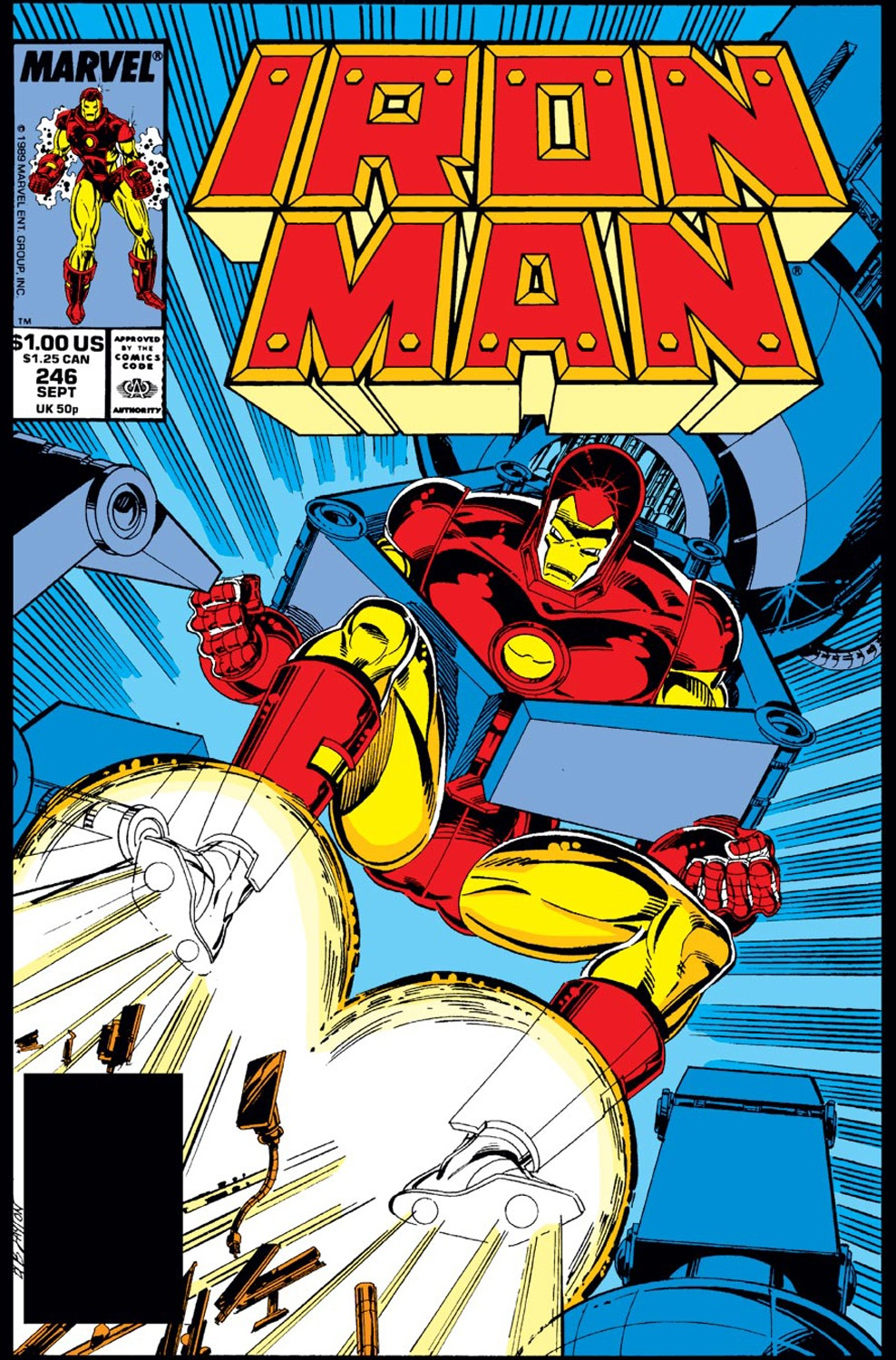 Iron man vol 1 246 marvel database fandom powered by wikia - Iron man 1 images ...