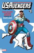 U.S.Avengers Vol 1 1 Maryland Variant