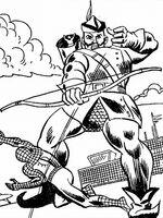 Astro (Earth-616) Spider-Man Zaps Mr. Zodiak 009