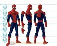 Peter Parker (Earth-12041) Production Art