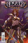 Angela Asgard's Assassin Vol 1 2 Choi Variant