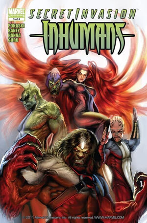 Secret Invasion Inhumans Vol 1 3
