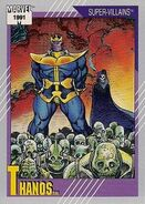 Thanos (Earth-616) from Marvel Universe Cards Series II 0001