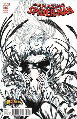 File:Amazing Spider-Man Vol 4 16 ComicXposure Exclusive Black & White Variant.jpg