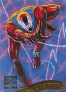 Ben Reilly (Earth-616) from Marvel Masterpieces Trading Cards 1995 Set 0001