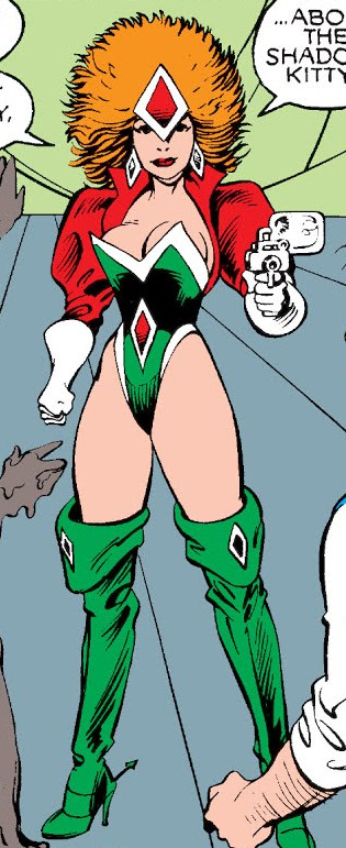 Morwen Powell (Earth-1282) from Excalibur Vol 1 24 0001