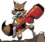 Rocket Raccoon (Earth-97161) from Guardians Team-Up Vol 1 5 001