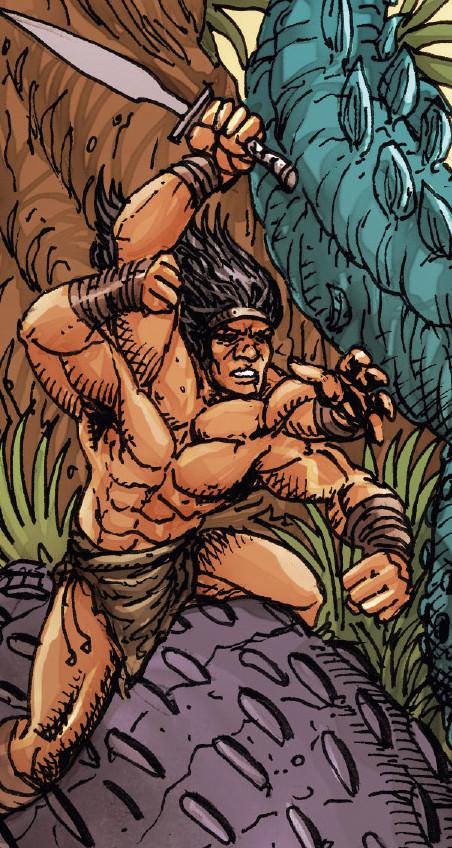 Barbarus (Earth-616) from Marvel Comics Presents Vol 2 6 0001