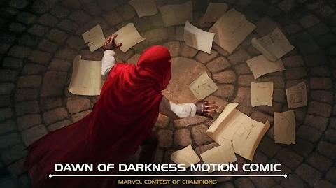 Dawn of Darkness Motion Comic Marvel Contest of Champions