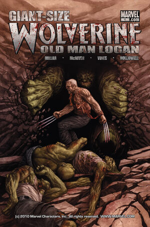 Wolverine Old Man Logan Giant-Size Vol 1 1