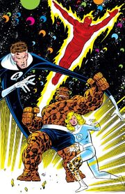 Fantastic Four (Earth-616) from Fantastic Four Vol 1 296 0001
