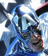 Captain America (James Barnes) (head)