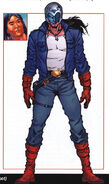 Jason Strongbow (Earth-616) from Official Handbook of the Marvel Universe A-Z Update Vol 1 2 0001