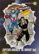 Steven Rogers and Jack Monroe (Earth-616) from Marvel Universe Cards Series III 0001