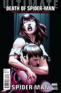 Ultimate Spider-Man Vol 1 160 Bagley Spoiler Variant